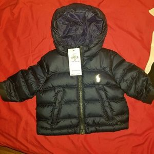 New Ralph Lauren jacket 3 months